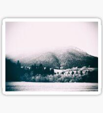 mountains #blackandwhite #photography Sticker