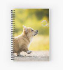 Corgi Puppy Spiral Notebook