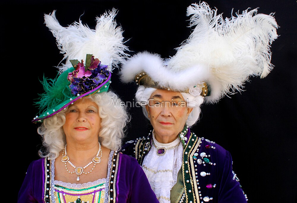 Lady and King in Purple by VeniceCarnival