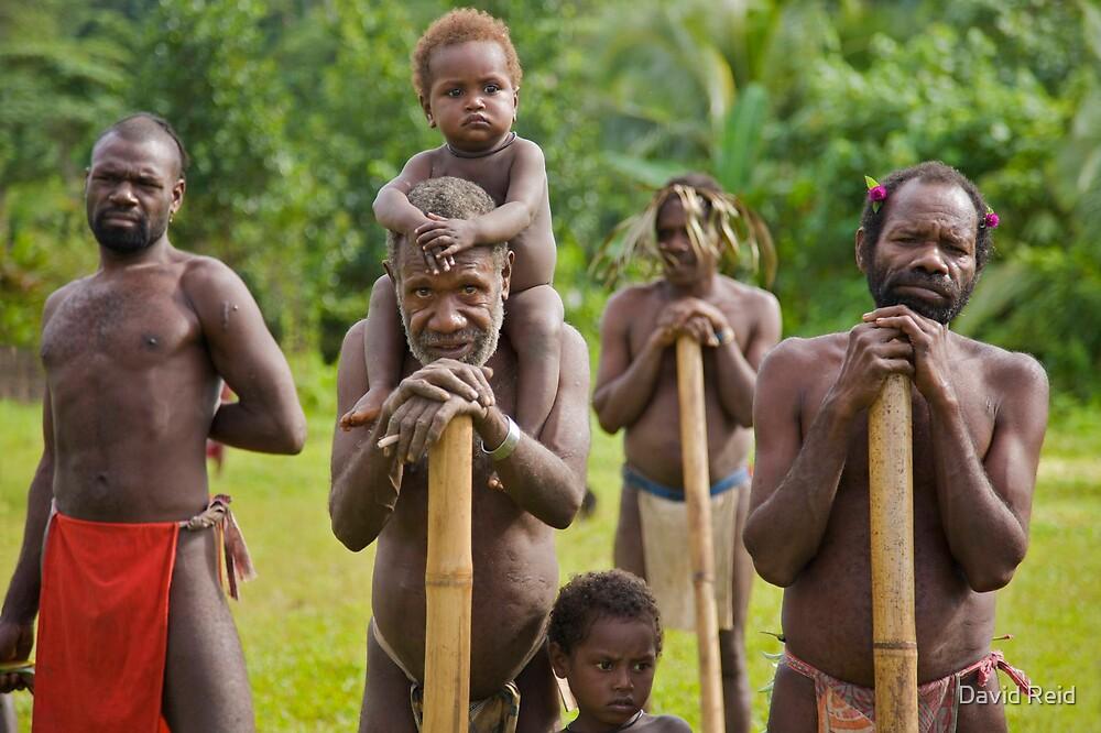 Tribesmen by David Reid
