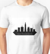 skyline san francisco T-Shirt