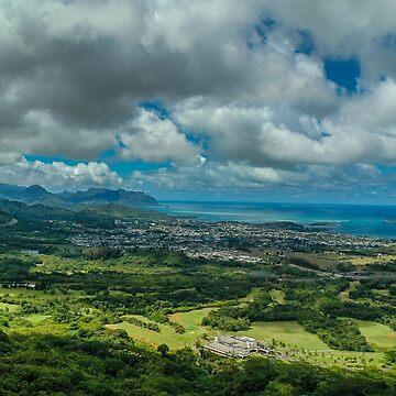 Hawaiian Landscape by AliusImago