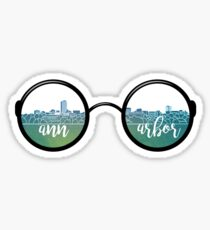 Pegatina Gafas de sol de Ann Arbor