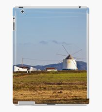 Portugal Rural Landscape with Old Windmill iPad Case/Skin