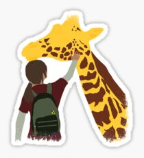 The Last Of Us: Ellie and the Giraffe Sticker