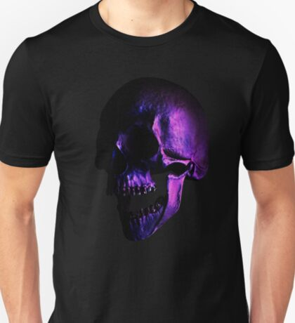 Purple Skull T-Shirt