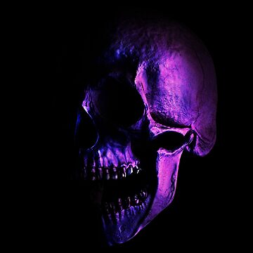 Purple Skull by ddtk