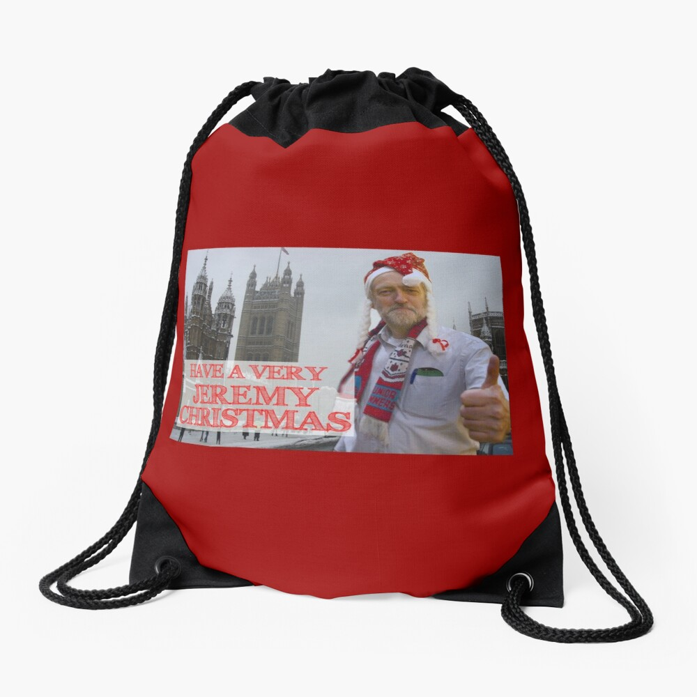 A Very Jeremy Christmas - Corbyn Labour Drawstring Bag