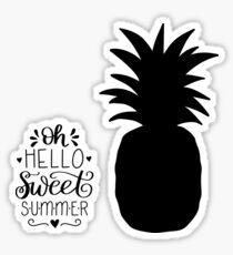 OH HELLO SWEET SUMMER Sticker