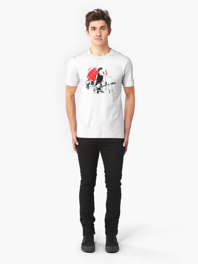 Alternate view of Japanese Artist Slim Fit T-Shirt