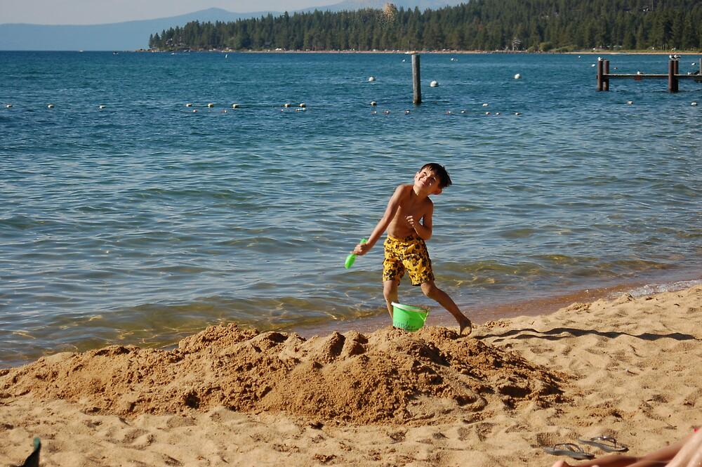 Sand Launch by Jack Walker