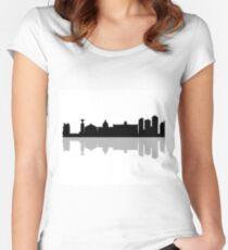 skyline Lisbon Women's Fitted Scoop T-Shirt