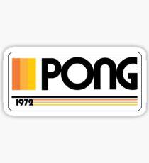 PONG ARCADE - 1972 Sticker