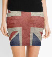 I Love Great Britain - Country Code GB T-Shirt & Sticker Mini Skirt
