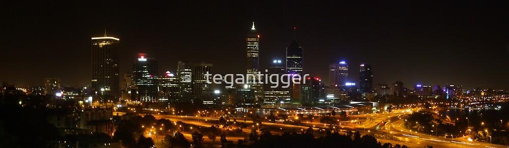 Perth Skyline by tegantigger