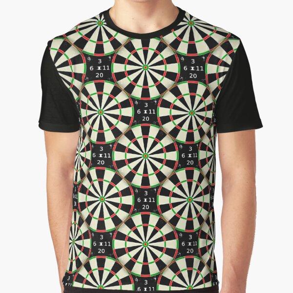 Dartboard Design 180 Graphic T-Shirt
