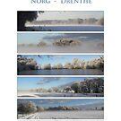 Winter in Drenthe by Peter Voerman