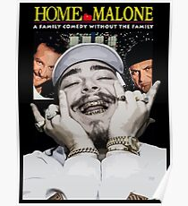 HOME MALONE Poster