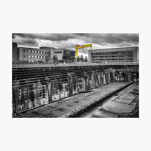 Titanic Dock Photographic Print