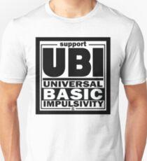 Impulsivity   UBI Black Unisex T-Shirt