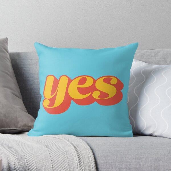 Affirmative Throw Pillow