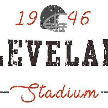 Cleveland Stadium by HomePlateCreate