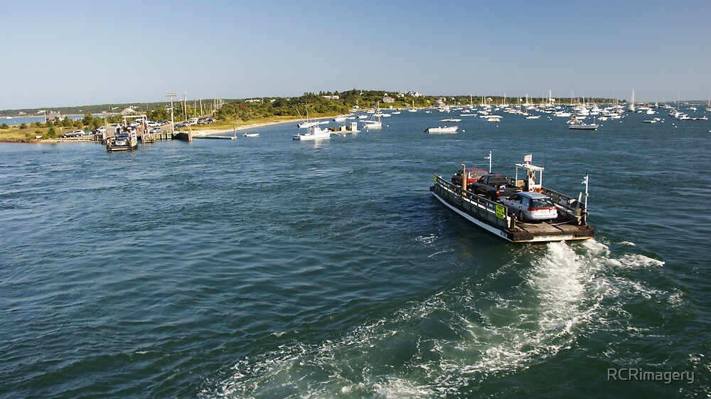 Chappaquiddick Ferry by RCRimagery