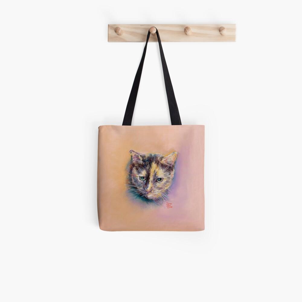 Annie Calico Kitty Tote Bag