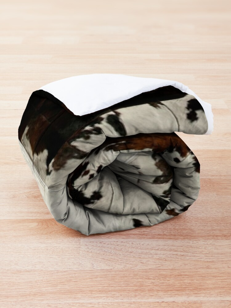 Alternate view of Cowhide Patchwork | Texture  Comforter