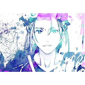Young Victor Watercolor Splash by madnessdiscord
