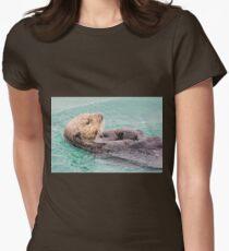 Belly Rub Digital Art T-Shirt