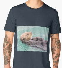 Belly Rub Digital Art Men's Premium T-Shirt