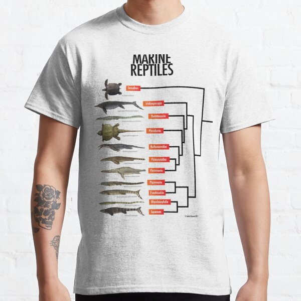 Marine Reptiles Classic T-Shirt