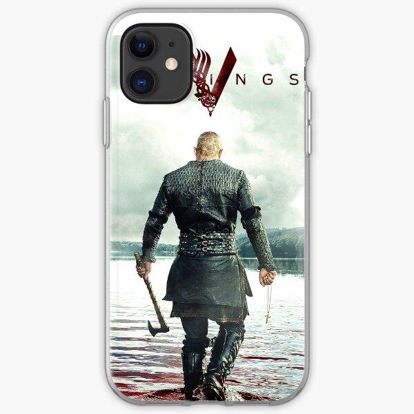 Ragnar Lothbrok Vikings iPhone Soft Case