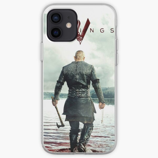Ragnar Lothbrok Vikings Coque souple iPhone
