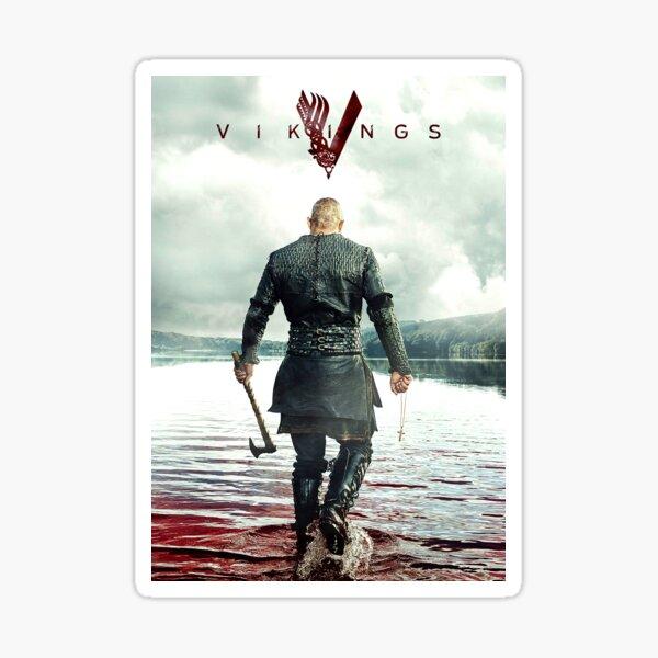 Ragnar Lothbrok Vikings Sticker