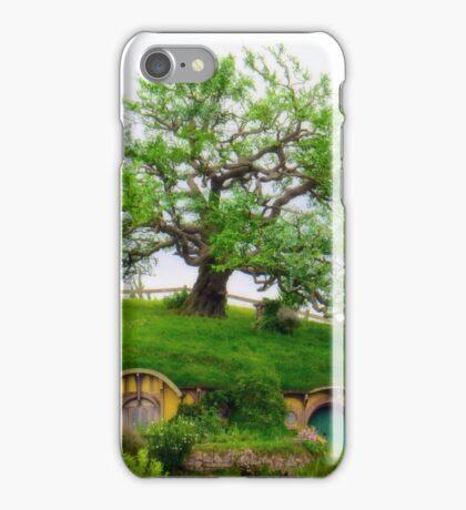 Bag end on Bagshot row, Hobbiton. iPhone Case/Skin