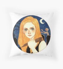 Buffy contre les Vampires Throw Pillow