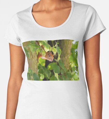 Peeking Women's Premium T-Shirt