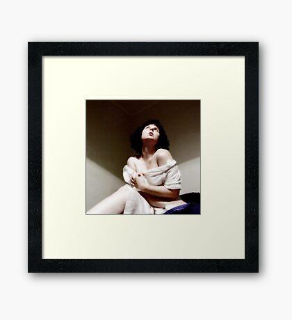 faith in the nighttime Framed Print