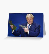 Boris Johnson Meme Greeting Card