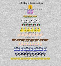 Twelve Days of Dwight Christmas Kids Pullover Hoodie