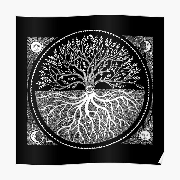 Druid Tree of LIfe Poster