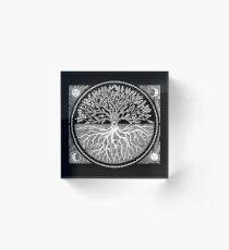 Druid Tree of LIfe Acrylic Block