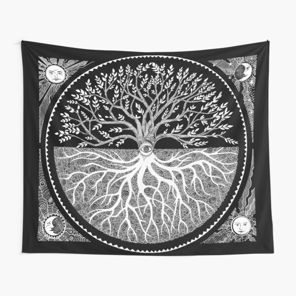Druid Tree of LIfe Tapestry