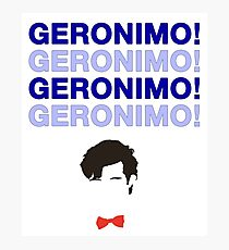 Geronimo! Photographic Print