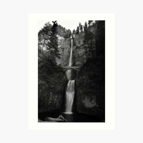 Falling for Portland Art Print