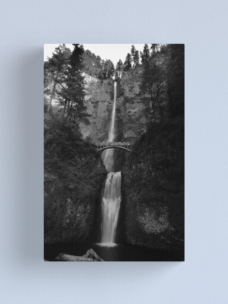 Alternate view of Falling for Portland Canvas Print