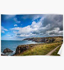 Pembrokeshire Coastal Path Poster
