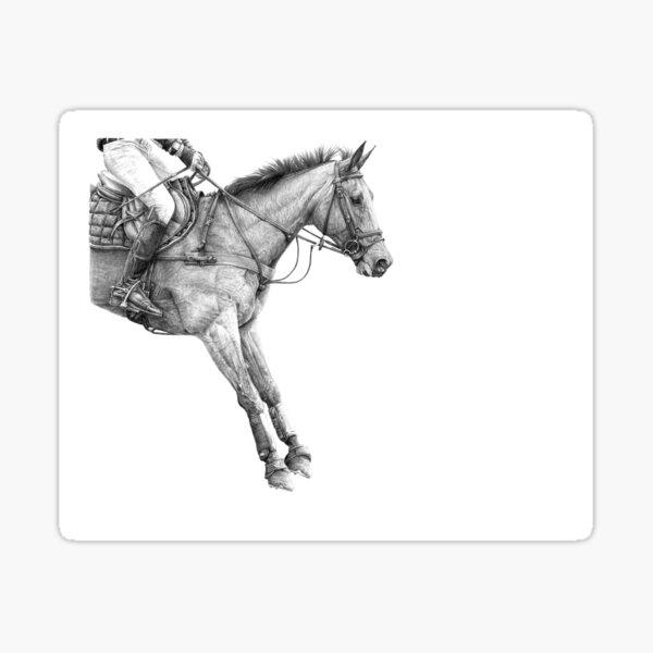 Gravity - Event Horse Sticker